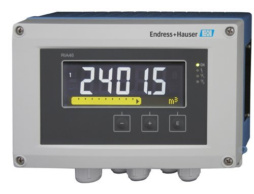 Endress hauser: display e unità di controllo automazione plus