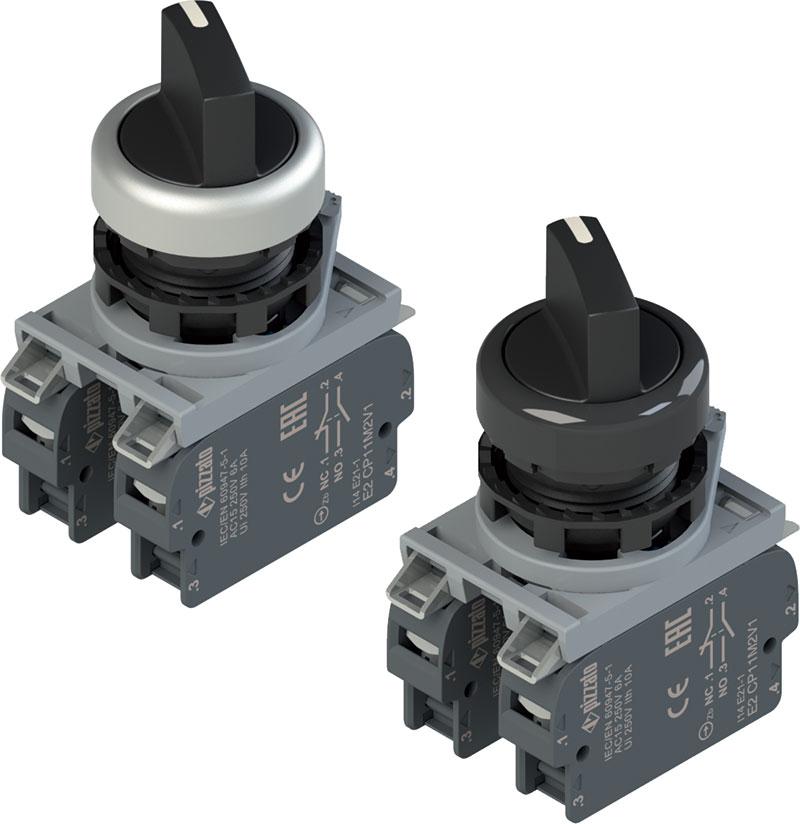 Selettori a 4 posizioni pizzato elettrica automazione plus for Tipi di interruttori elettrici