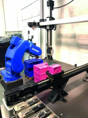NSK attuatori lineari cella robotizzata