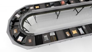 interroll Split Tray Sorter MT015S
