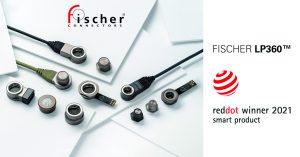 Fischer Connectors Red Dot Awards