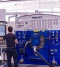 Area testing con Banco prova Bosch Rexroth-Pressoil