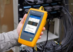 RS Components distribuisce il tester LinkIQ Cable+Network di Fluke Networks